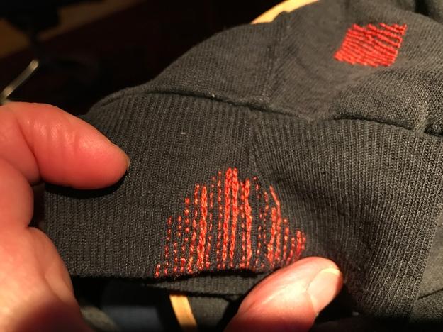 Slow stitches: visible mending | carpe diem!